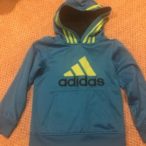 Boy's Adidas Hoodies Sweatshirt- Size 7